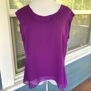 🆕JONES WEAR Purple Top